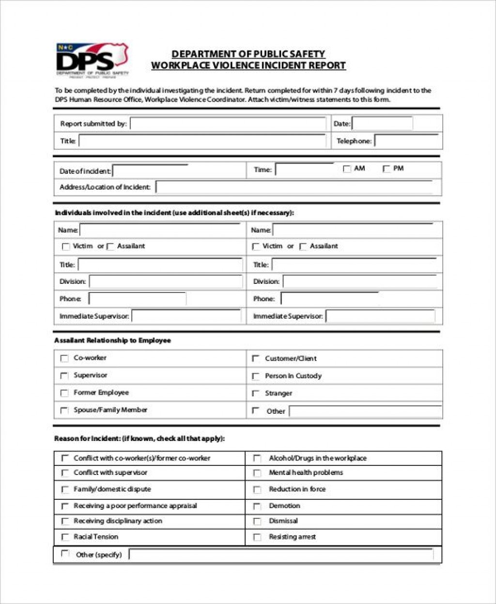 003 Unusual Accident Report Form Template Concept  Incident Victoria Injury FreeLarge