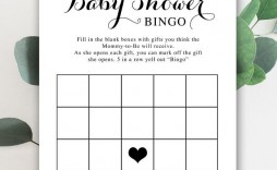 003 Unusual Baby Shower Card Printable Black And White Image