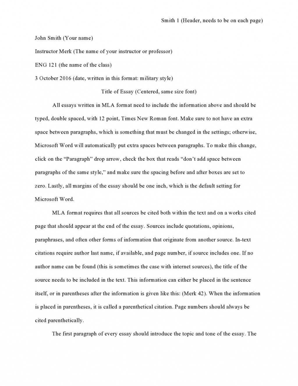 003 Unusual College Essay Format Example Sample  Examples Writing Application AdmissionLarge