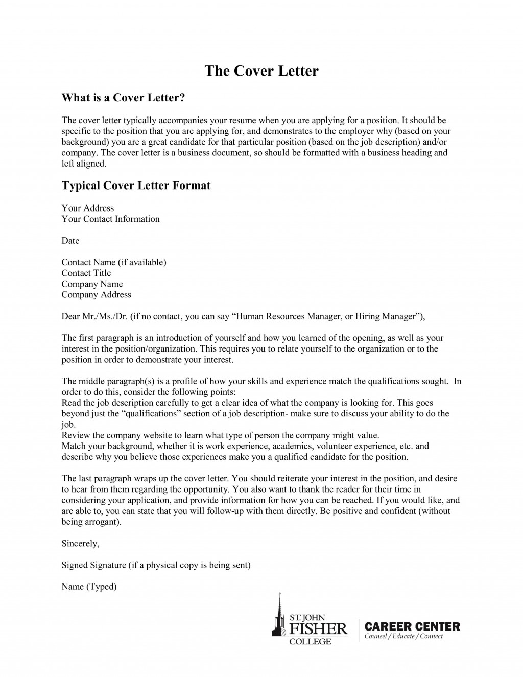 Sample Cover Letter Heading from www.addictionary.org