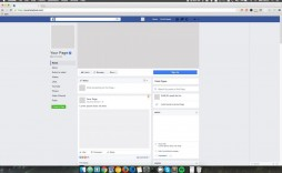 003 Unusual Fake Facebook Page Template Image  Busines Microsoft Word Create A
