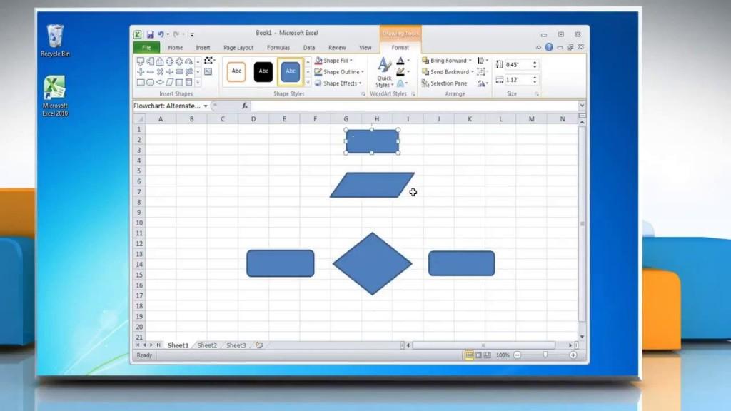 003 Unusual Flow Chart Microsoft Excel High Def  Flowchart TemplateLarge