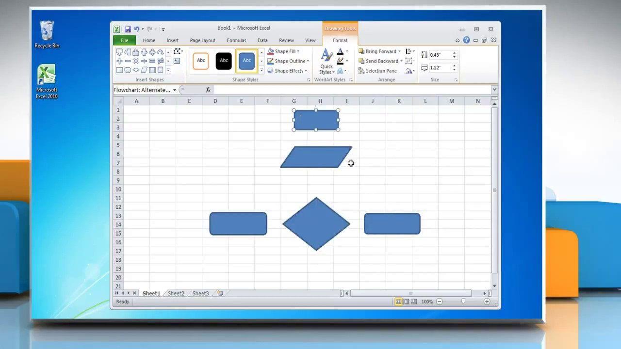 003 Unusual Flow Chart Microsoft Excel High Def  Flowchart TemplateFull