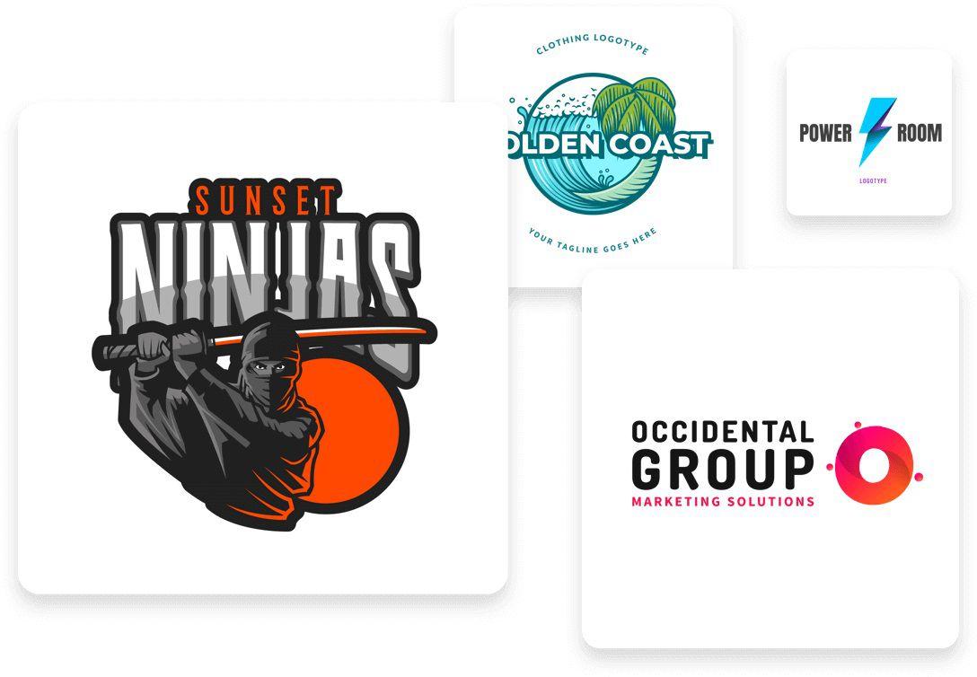 003 Unusual Free Busines Logo Template Idea  Templates Design Download PowerpointFull