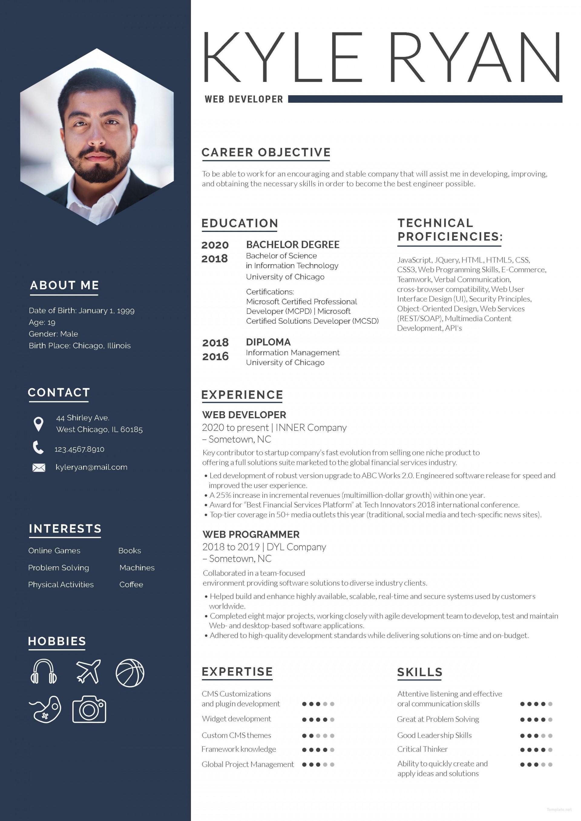 003 Unusual Free Resume Template 2018 Printable Highest Clarity 1920