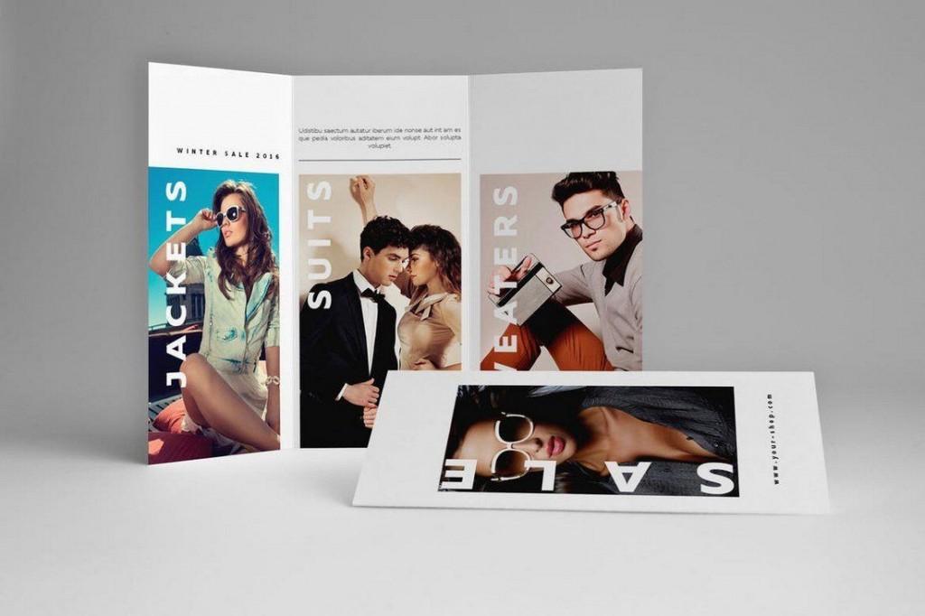 003 Unusual Indesign Trifold Brochure Template Example  Tri Fold A4 Bi Free DownloadLarge