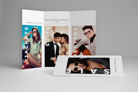 003 Unusual Indesign Trifold Brochure Template Example  Tri Fold A4 Bi Free Download480