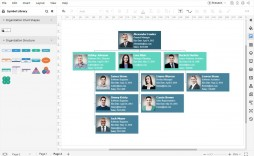 003 Unusual Organizational Chart Template Excel Sample  Org Free