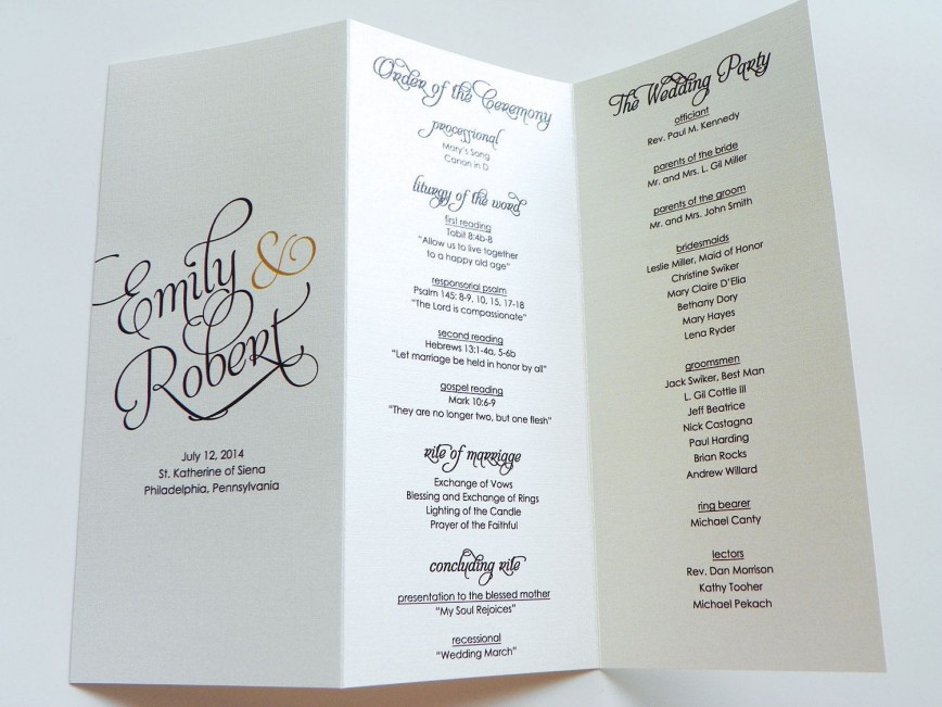 003 Unusual Trifold Wedding Program Template High Def  Templates Free Printable Tri Fold Foldable Sample Tri-fold