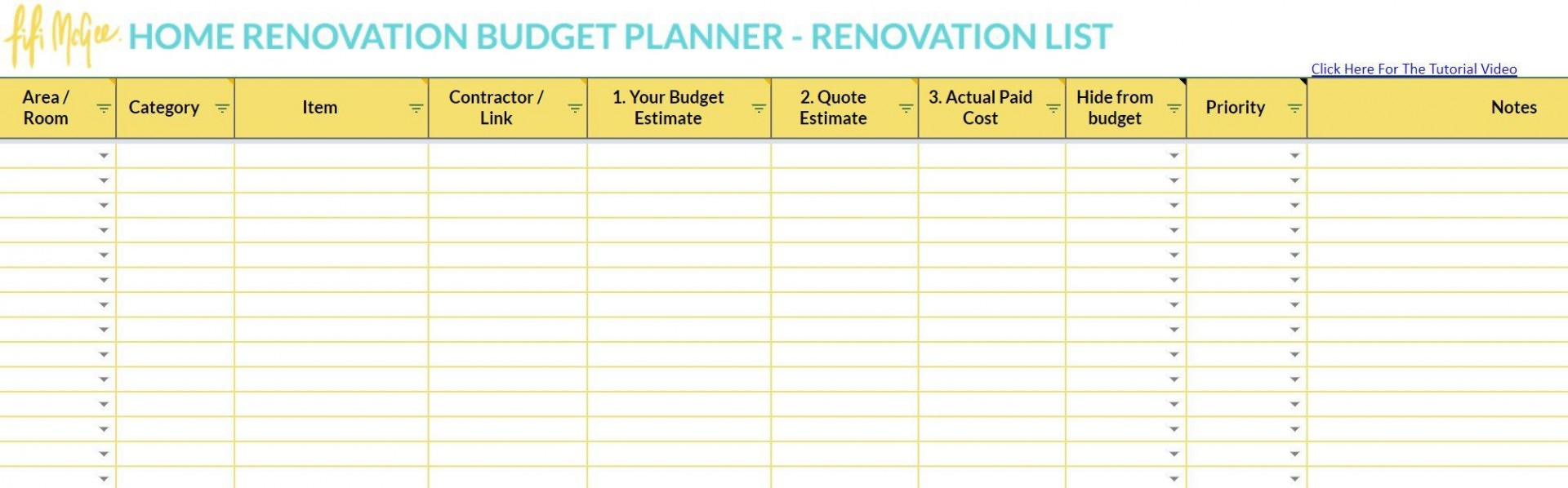 003 Wonderful Best Home Renovation Budget Template Excel Free Photo 1920