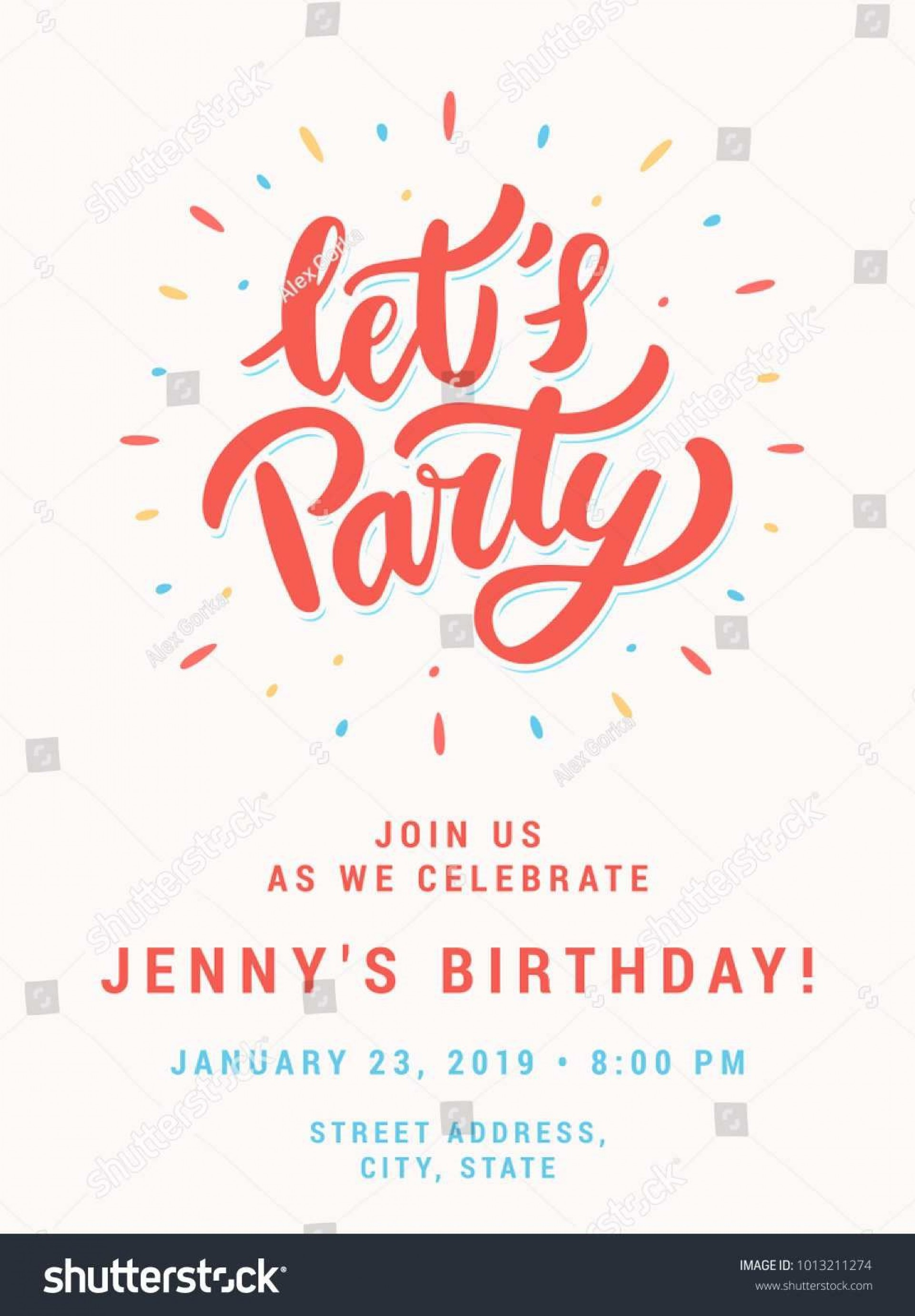 003 Wonderful Birthday Party Invitation Template Word Free Example  Download Invite1920