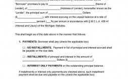 003 Wonderful Blank Promissory Note Template Example  Form Free Download