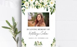 003 Wonderful Celebration Of Life Template Photo  Powerpoint Program Download Announcement Free