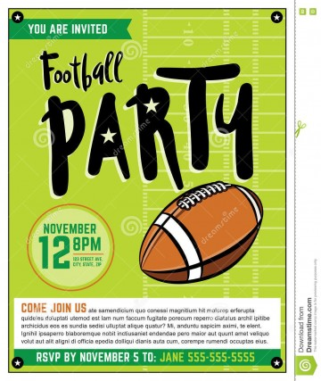 003 Wonderful Free Tailgate Party Flyer Template Download Photo 360