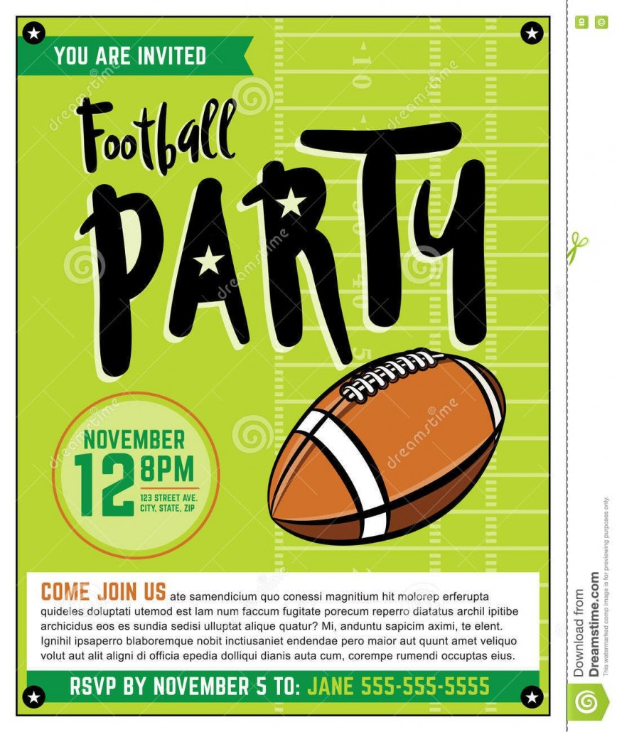 003 Wonderful Free Tailgate Party Flyer Template Download Photo 868