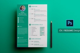 003 Wonderful How To Create A Resume Template In Photoshop Highest Quality