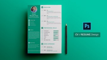 003 Wonderful How To Create A Resume Template In Photoshop Highest Quality 360