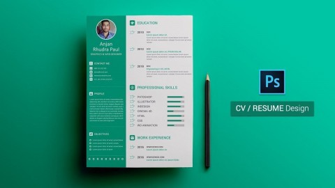 003 Wonderful How To Create A Resume Template In Photoshop Highest Quality 480