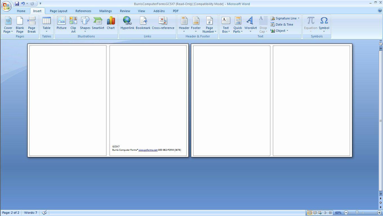 003 Wonderful Microsoft Word Greeting Card Template Concept  Birthday Blank Free 2007Full