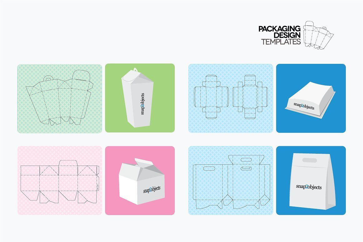 003 Wonderful Product Packaging Design Template  Templates Free Download SampleFull