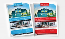 003 Wonderful Real Estate Flyer Template Free Inspiration  Publisher Commercial Pdf Download