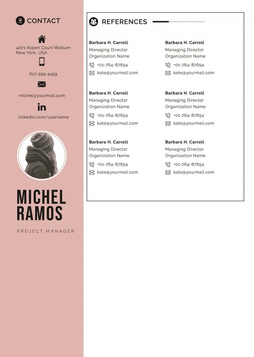 003 Wonderful Resume Reference Template Microsoft Word High Resolution  List