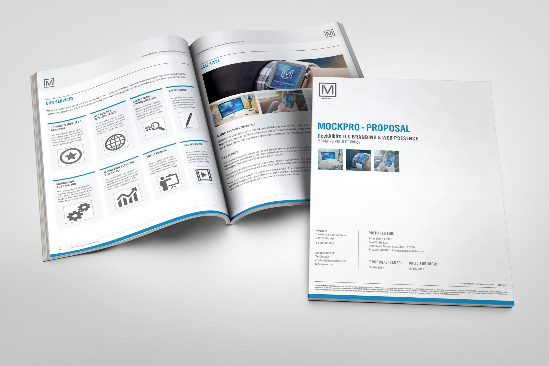 003 Wonderful Simple Busines Proposal Template Inspiration  Example Word Doc Basic Plan Free1920