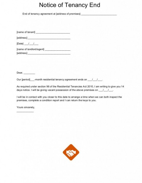 003 Wonderful Template For Terminating A Lease Agreement High Definition  Rental Sample Letter480