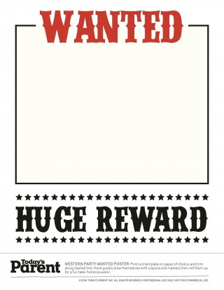 003 Wonderful Wanted Poster Template Microsoft Word Image  Western Most320