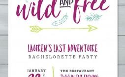 003 Wondrou Bachelorette Party Itinerary Template Free Design  Download