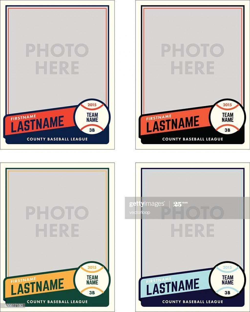 003 Wondrou Baseball Card Template Photoshop Highest Quality  Topp FreeLarge