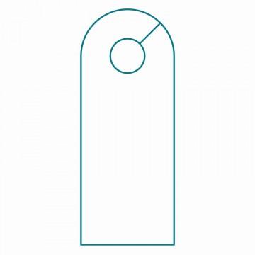 003 Wondrou Blank Door Hanger Template Free Idea 360