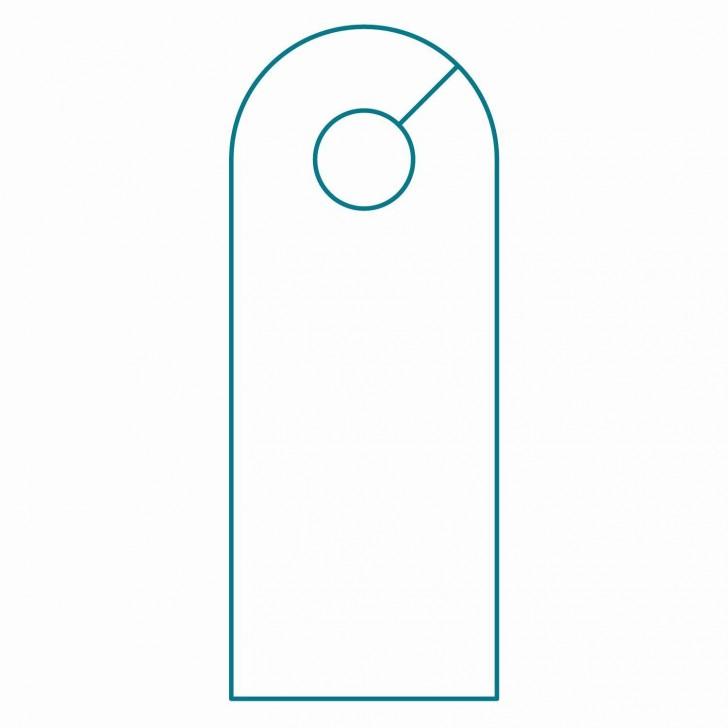 003 Wondrou Blank Door Hanger Template Free Idea 728