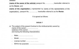 003 Wondrou Car Rental Agreement Template Photo  Vehicle Rent To Own South Africa Singapore