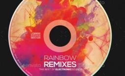003 Wondrou Cd Label Design Template Free Download  Cover Psd