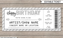 003 Wondrou Editable Ticket Template Free Inspiration  Word Airline Raffle