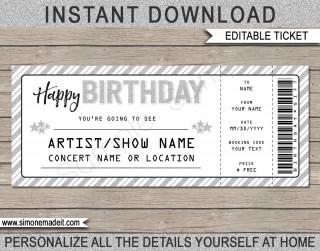 003 Wondrou Editable Ticket Template Free Inspiration  Concert Word Irctc Format Download Movie320