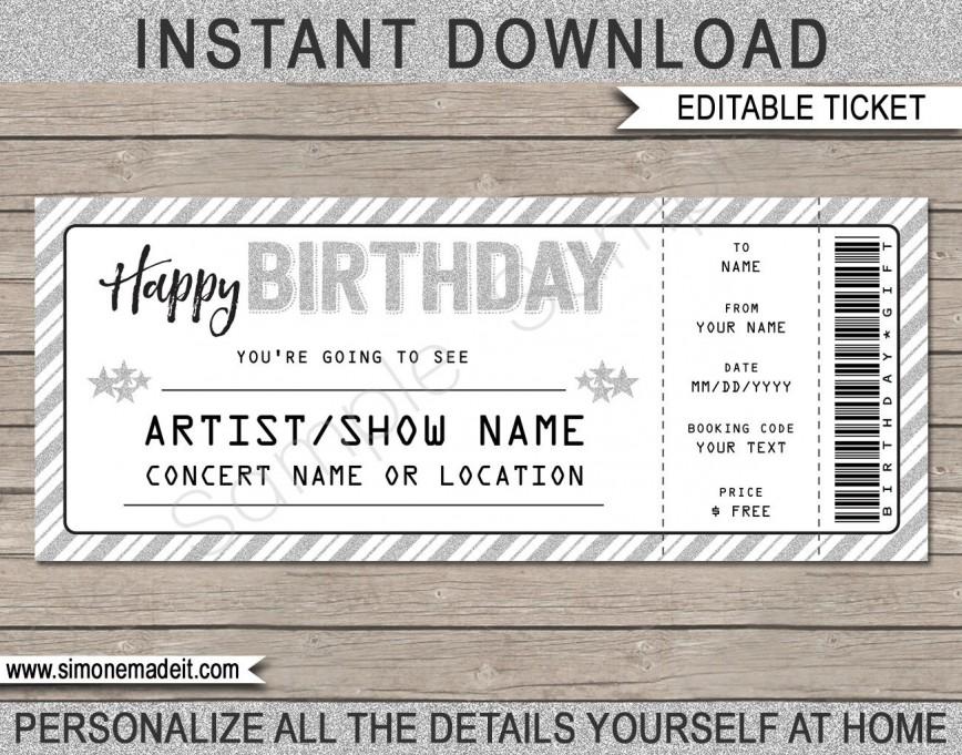 003 Wondrou Editable Ticket Template Free Inspiration  Concert Word Irctc Format Download Movie868