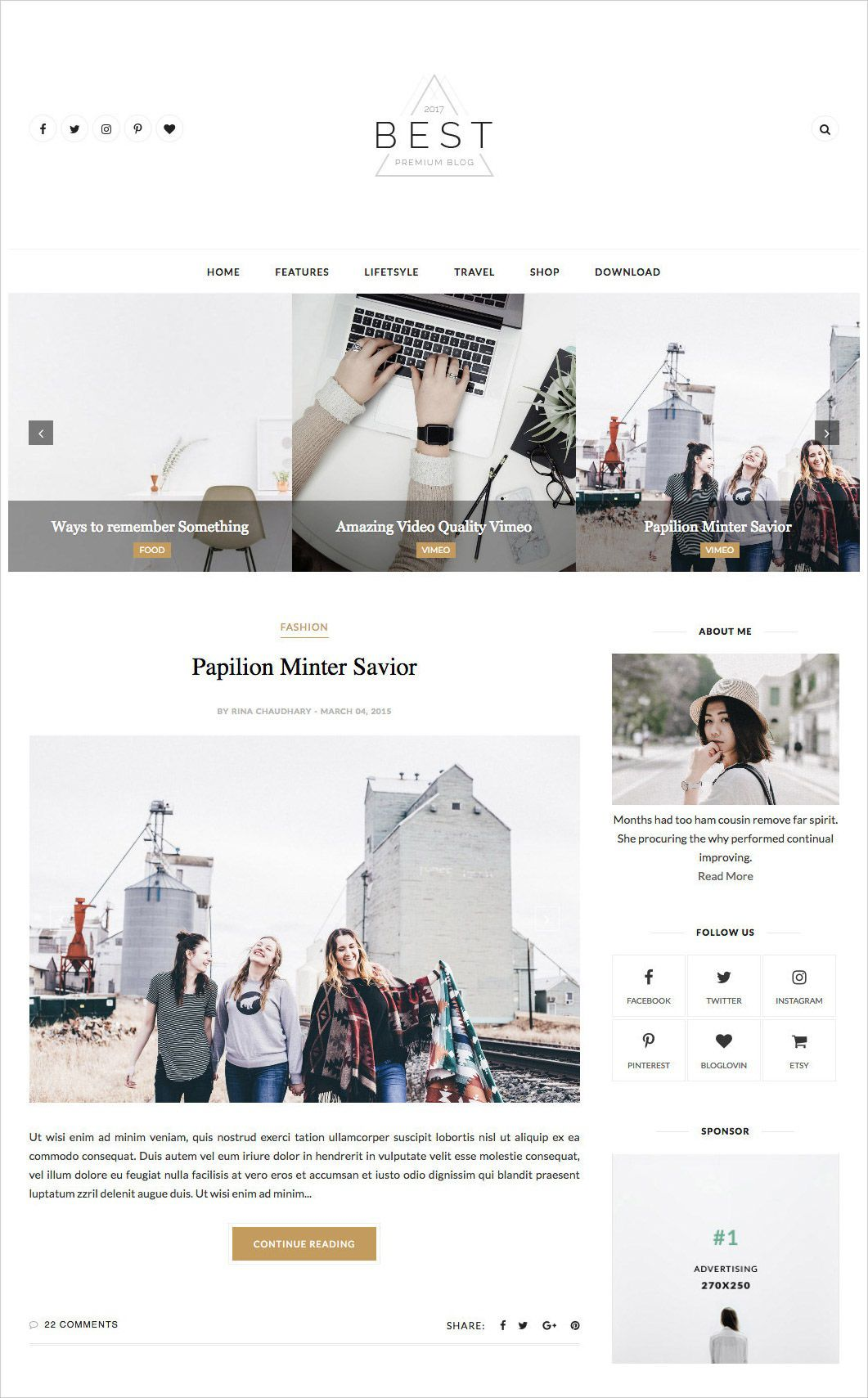 003 Wondrou Free Best Blogger Template 2015 Concept Full