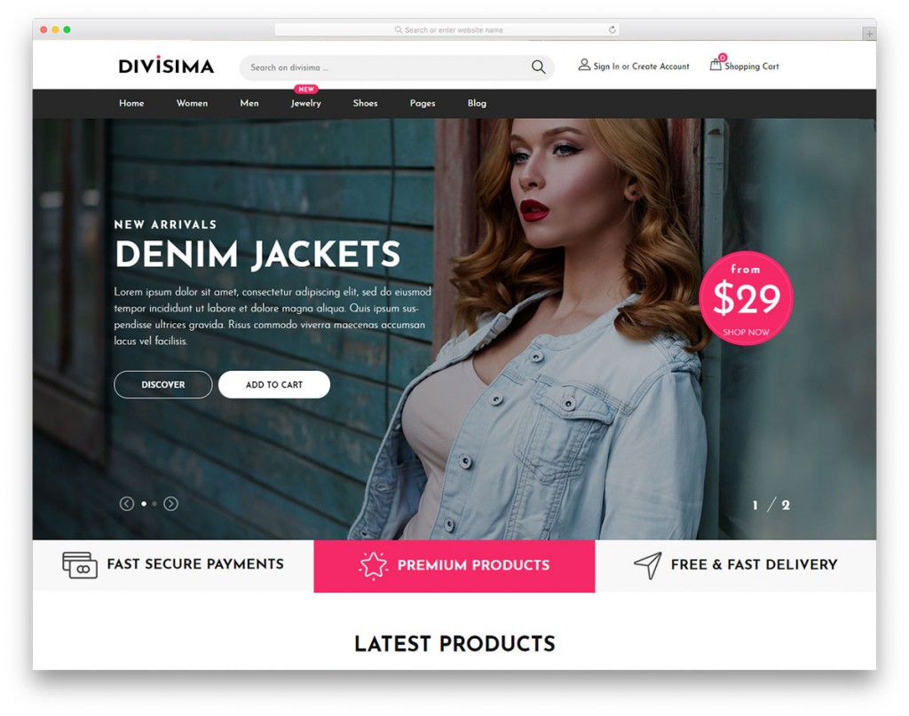 003 Wondrou Free E Commerce Website Template Concept  Ecommerce Html Cs Bootstrap PhpLarge