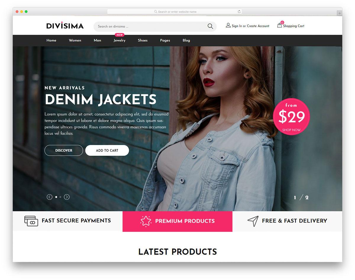 003 Wondrou Free E Commerce Website Template Concept  Ecommerce Html Cs Bootstrap PhpFull