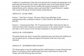 003 Wondrou Free Lease Agreement Template Word High Definition  Commercial Residential Rental South Africa