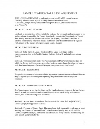 003 Wondrou Free Lease Agreement Template Word High Definition  Commercial Residential Rental South Africa320