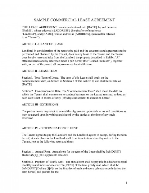 003 Wondrou Free Lease Agreement Template Word High Definition  Commercial Residential Rental South Africa480