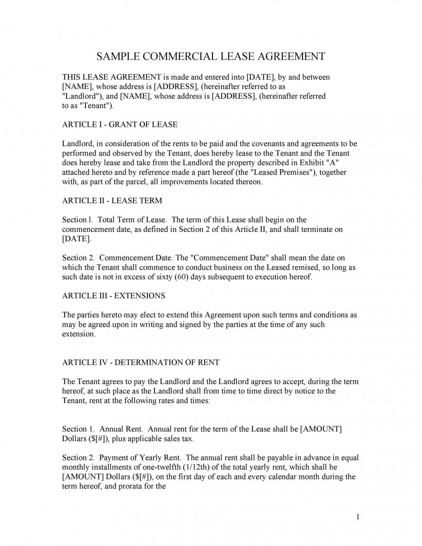 003 Wondrou Free Lease Agreement Template Word High Definition  Commercial Residential Rental South Africa868