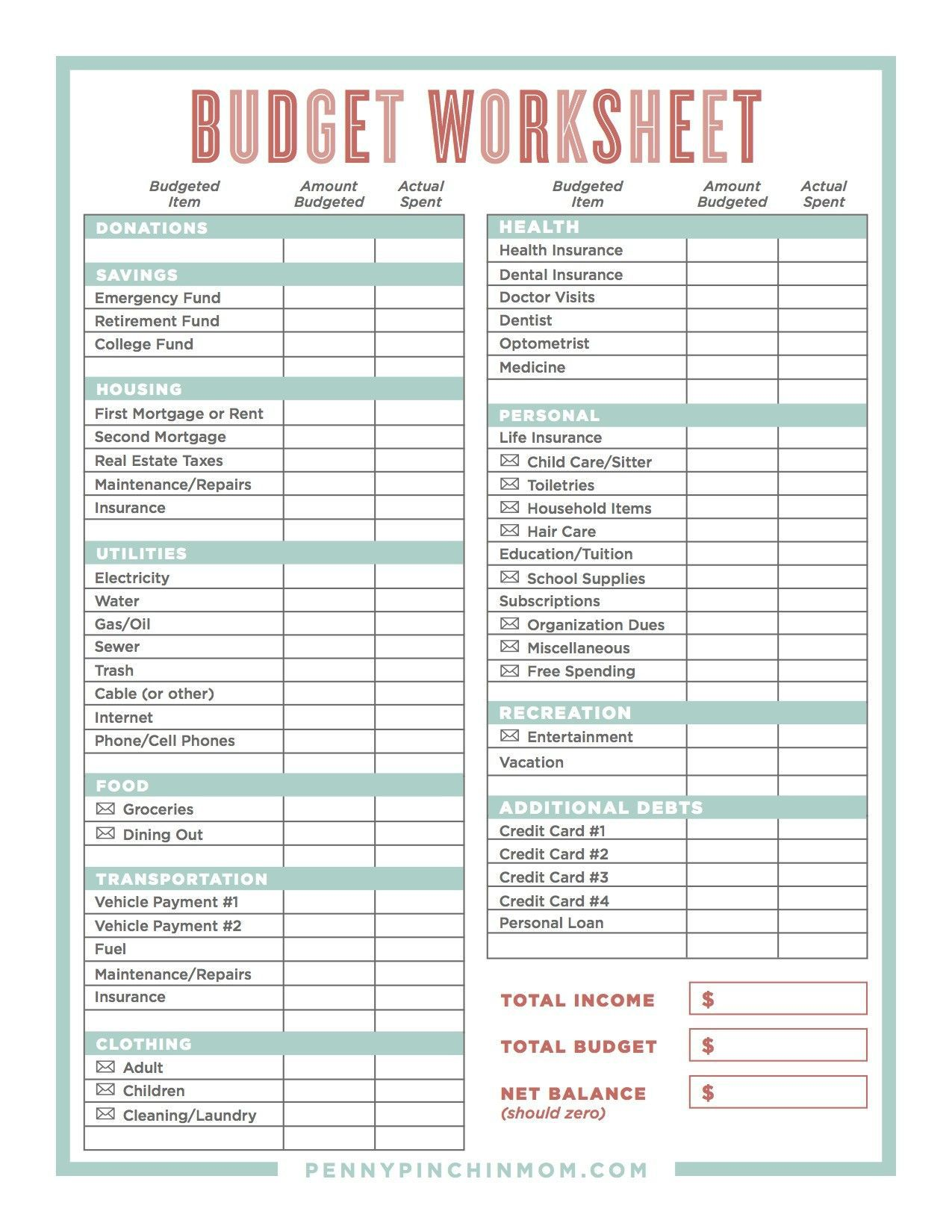 003 Wondrou Free Simple Home Budget Template Image Full
