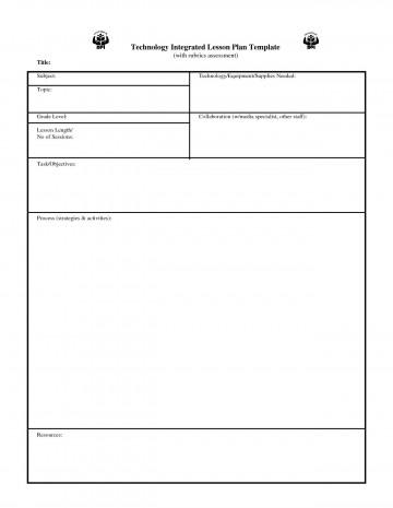 003 Wondrou Lesson Plan Template Pdf Photo  Free Printable Format In English360