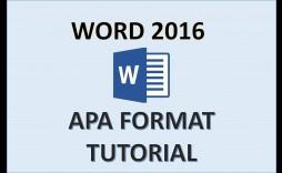 003 Wondrou Literature Review Sample Apa 6th Edition Example  Format
