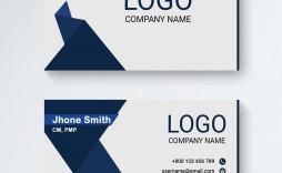 003 Wondrou Minimal Busines Card Template Free Download Sample  Simple Design Coreldraw