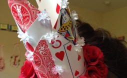 003 Wondrou Queen Of Heart Crown Pattern Idea  Printable Template Headband Diy